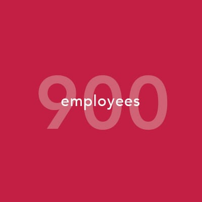 900 Employees