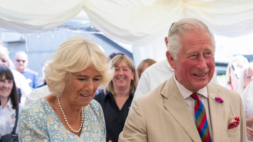 The Duke and Duchess of Cornwall