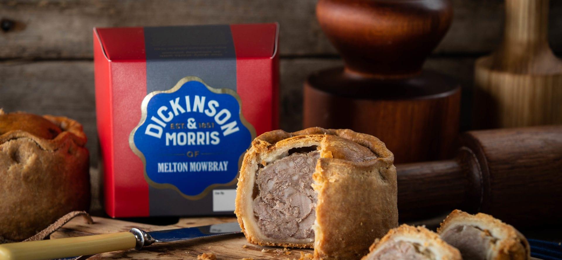 NEW Dickinson & Morris Authentic Melton Mowbray Pork pie ...