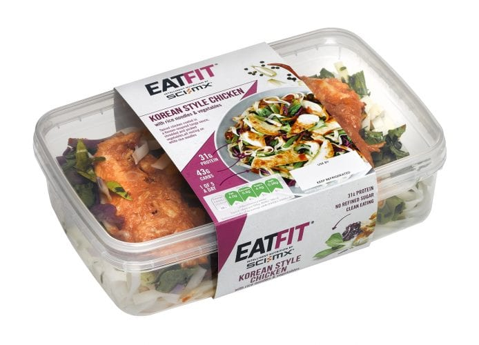 Eat Fit Packaging