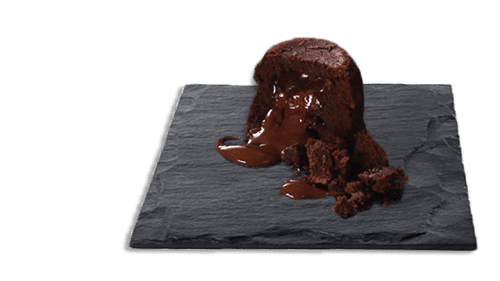 Two Belgian Chocolate Melting Middle