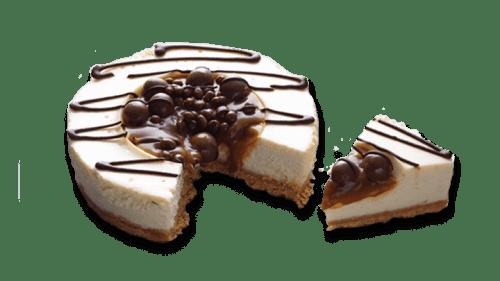 Sunken Caramel Cheesecake