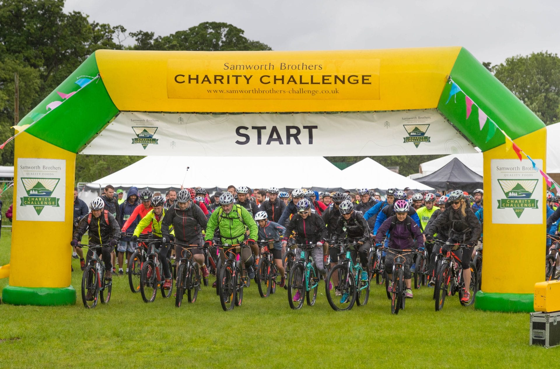 Charity challenge start